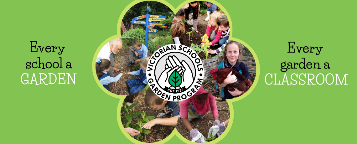 Every student a gardener, every garden a classroom
